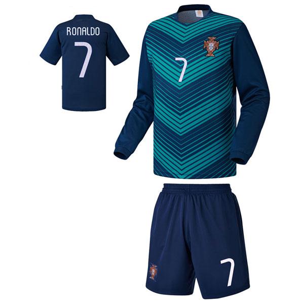 포르투갈 져지형 14-15 축구유니폼 셋트 [풀마킹/번호/이니셜] UTU124