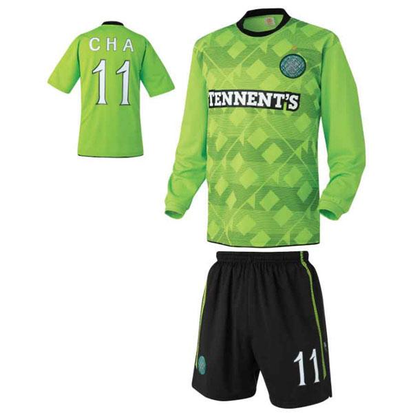 셀틱 어웨이형 축구유니폼 셋트 [풀마킹/번호/이니셜] UTU139