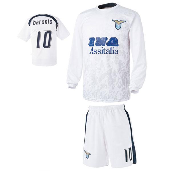 라치오 어웨이형 축구유니폼 셋트 [풀마킹/번호/이니셜] UTU142