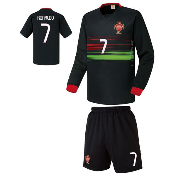 포루투갈 어웨이형 15-16 [풀마킹/번호/이니셜] 축구유니폼 셋트 기능성원단 UTU143