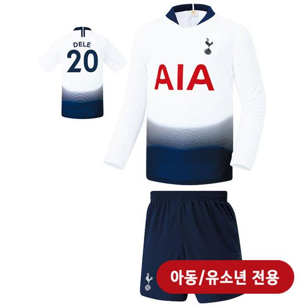 토트넘 홈 18-19 축구유니폼 셋트 [풀마킹/번호/이니셜] <BR>★아동/유소년용★<BR>UTU162