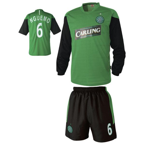 셀틱 져지형 축구유니폼 셋트 [풀마킹/번호/이니셜] UTU209