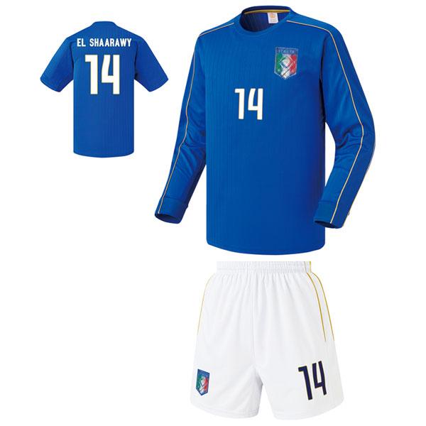 이탈리아 홈형 16-17 [풀마킹/번호/이니셜] 축구유니폼 셋트 기능성원단 UTU211