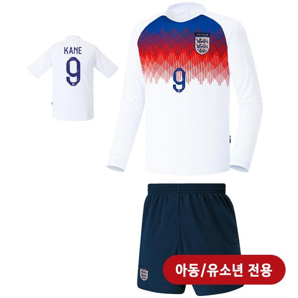 잉글랜드 져지형 18-19 축구유니폼 셋트 [풀마킹/번호/이니셜] <BR>★아동/유소년용★<BR> UTU252