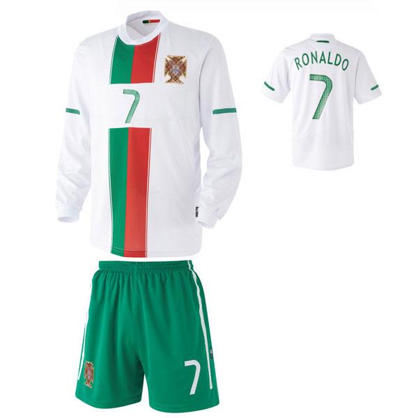 포루투갈 어웨이형 축구유니폼 셋트 [풀마킹/번호/이니셜] UTU269