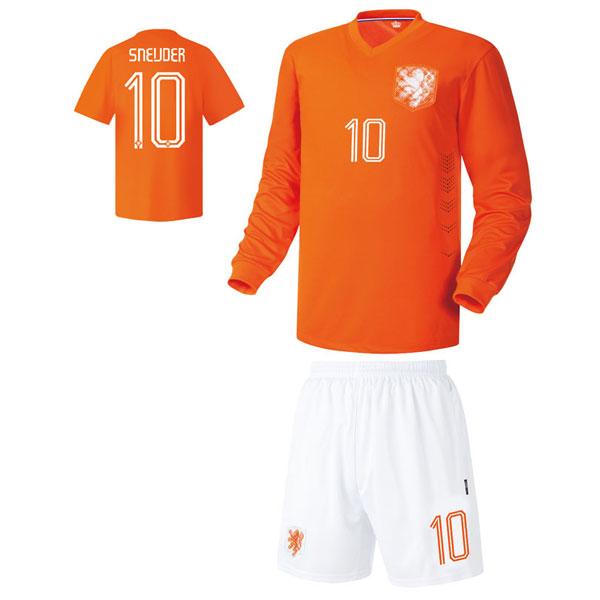 네덜란드 홈형 14-15 축구유니폼 셋트 [풀마킹/번호/이니셜] UTU288