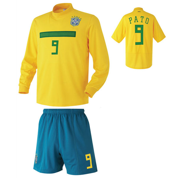 브라질 홈형 축구유니폼 셋트 [풀마킹/번호/이니셜] UTU297