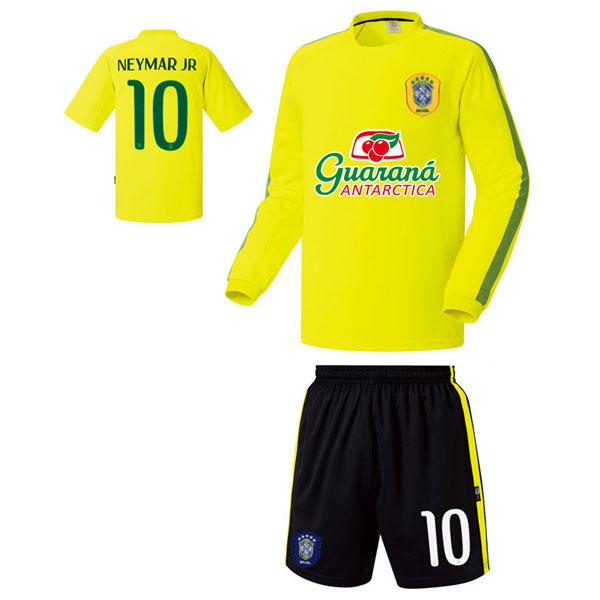 브라질 져지형 14-15 축구유니폼 셋트 [풀마킹/번호/이니셜] UTU307