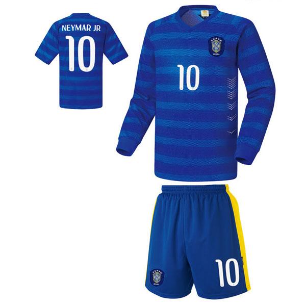 브라질 어웨이형 14-15 축구유니폼 셋트 [풀마킹/번호/이니셜] UTU316