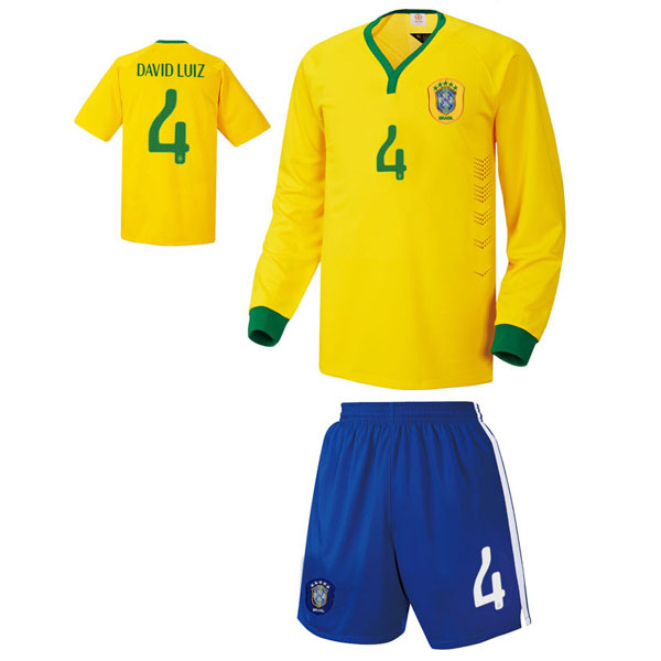 브라질 홈형 14-15 축구유니폼 셋트 [풀마킹/번호/이니셜] UTU317