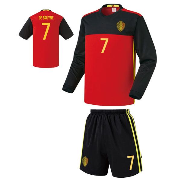 벨기에 홈형 16-17 [풀마킹/번호/이니셜] 축구유니폼 셋트 기능성원단 UTU335