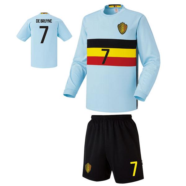 벨기에 어웨이형 16-17 [풀마킹/번호/이니셜] 축구유니폼 셋트 기능성원단 UTU336