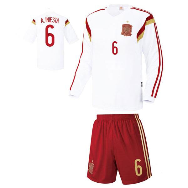 스페인 져지형 14-15 축구유니폼 셋트 [풀마킹/번호/이니셜] UTU350