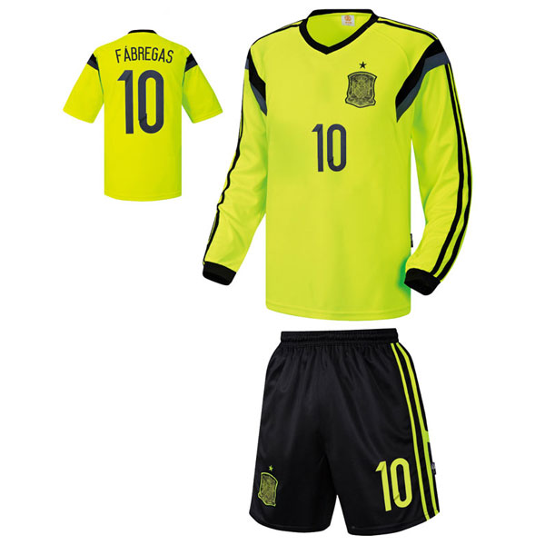 스페인 져지형 14-15 축구유니폼 셋트 [풀마킹/번호/이니셜] UTU357