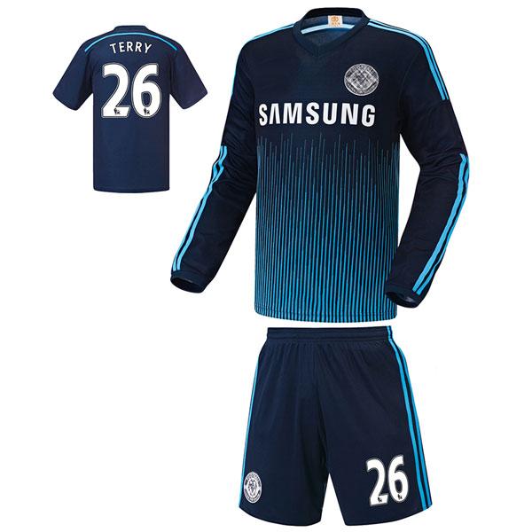 첼시 써드형 14-15 축구유니폼 셋트 [풀마킹/번호/이니셜] UTU396