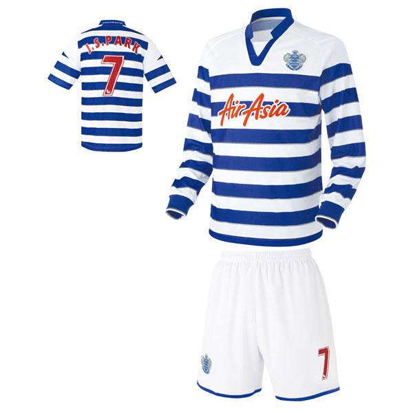 퀸즈파크레인져스 홈형 축구유니폼 셋트 [풀마킹/번호/이니셜] UTU401