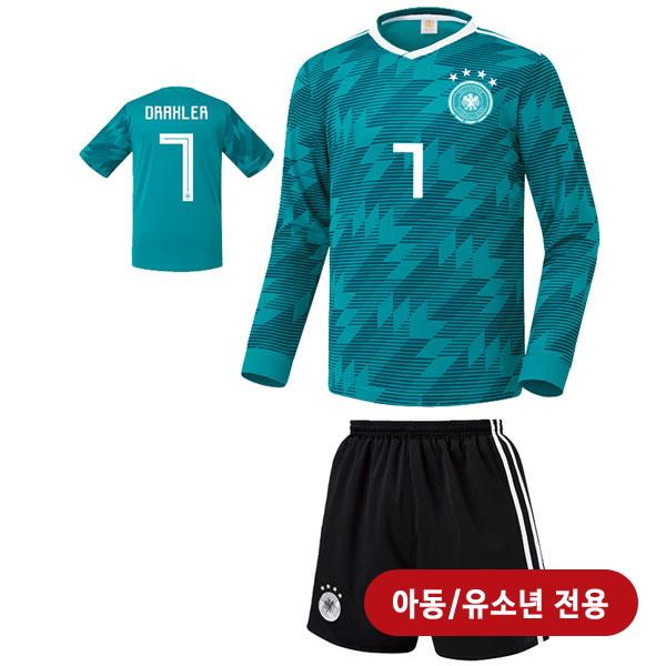 독일 어웨이형 18-19 축구유니폼 셋트 [풀마킹/번호/이니셜] <BR>★아동/유소년용★<BR>UTU409