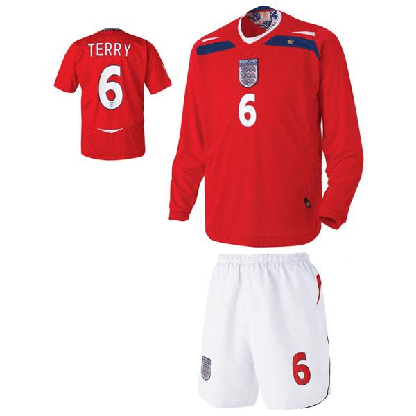잉글랜드 어웨이형 축구유니폼 셋트 [풀마킹/번호/이니셜] UTU435