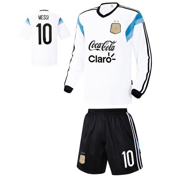 아르헨티나 져지형 14-15 축구유니폼 셋트 [풀마킹/번호/이니셜] UTU456