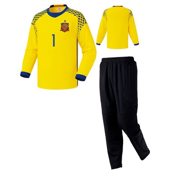 스페인 어웨이 16-17 GK 골키퍼복 [풀마킹/번호/이니셜] UTU807