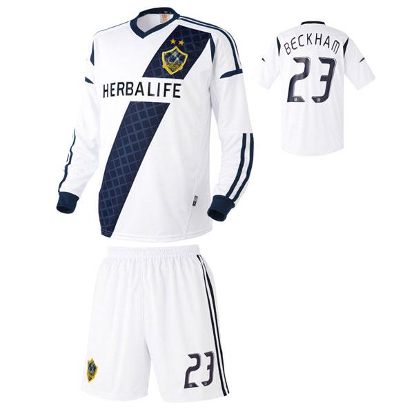 LA갤럭시 홈형 축구유니폼 셋트 [풀마킹/번호/이니셜] UTU962