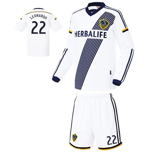 LA갤럭시 홈형 축구유니폼 셋트 [풀마킹/번호/이니셜] UTU964